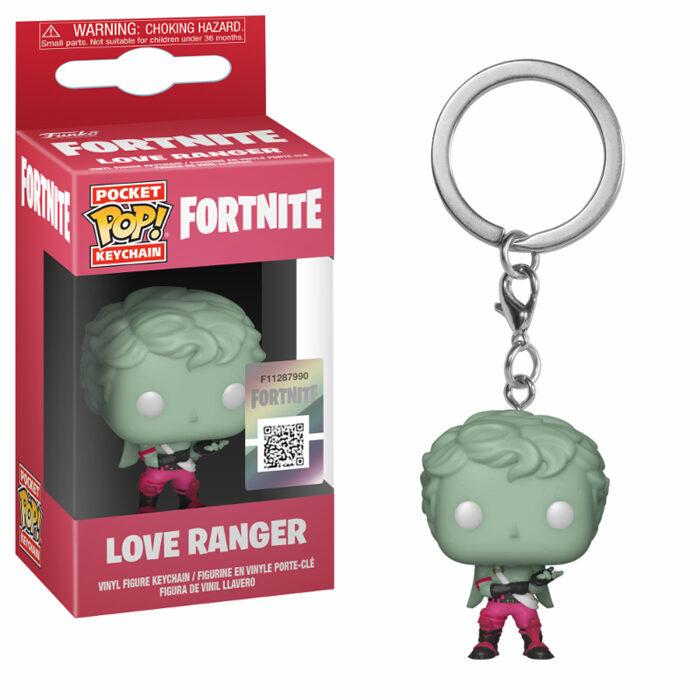 Love Ranger Pocket Pop Keychain