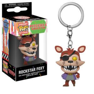 Rockstar Foxy Pocket Pop Keychain