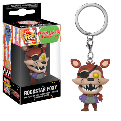 Rockstar Foxy Pocket Pop Keychain