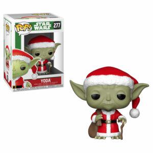 Santa Yoda Funko Pop