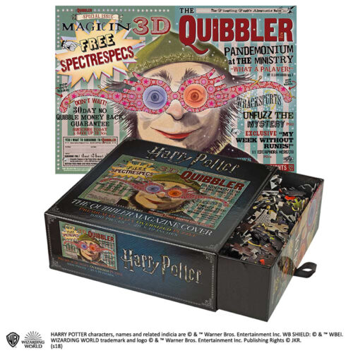 The Quibbler Magazin Cover Harry Potter Puzzel