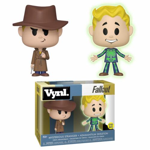 Adamantium & Mysterious Stranger Fallout Vynl Funko 2-pack