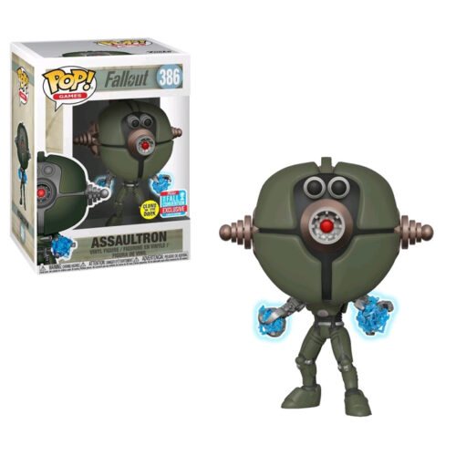 Assaultron NYCC 2018 Funko Pop