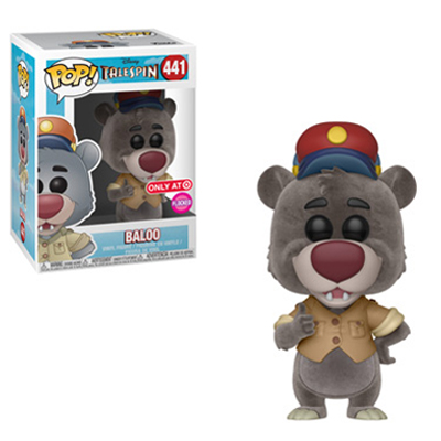 Baloo Flocked Funko Pop