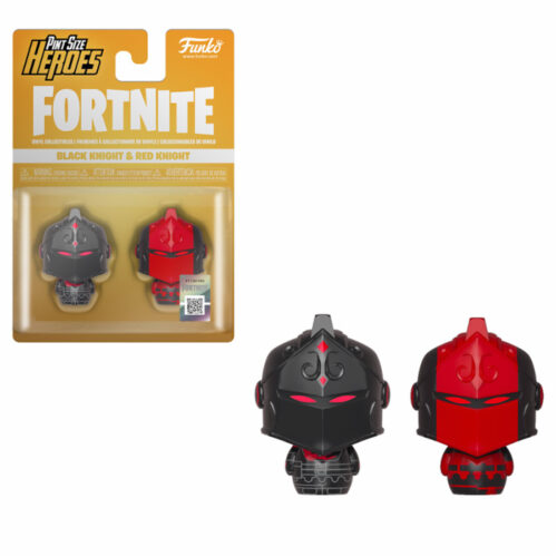Black Knight & Red Knight Pint Size Heroes Fortnite Funko