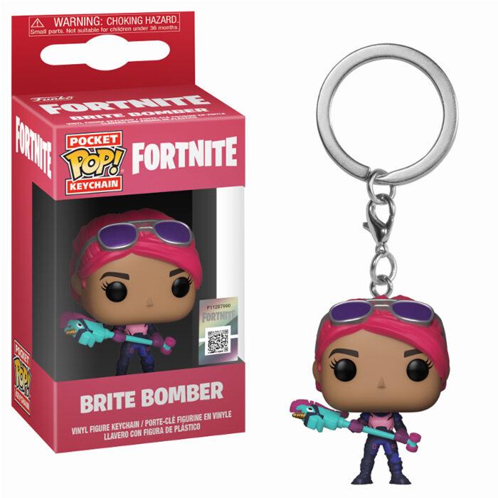 Brite Bomber Keychain
