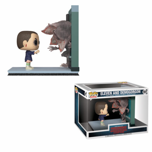 Eleven and Demogorgon Funko Pop Movie Moment