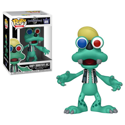 Goofy (Monsters Inc) Kingdom Hearts III Funko Pop