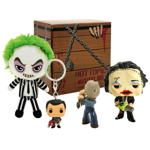 HORROR MYSTERY BOX HOT TOPIC EXCLUSIVE