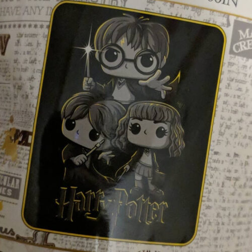Harry Potter Plush Throw