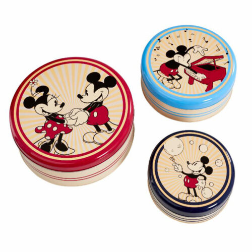 Kitchen Storage Set Round Retro Mickey Mouse Funko