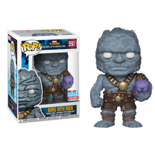 Korg with Miek Funko Pop