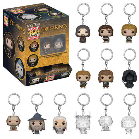 Lord of the Rings Mystery Pocket Pop Keychain