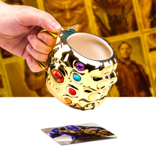 Marvel Infinity War Infinity Gauntlet Shaped Mug