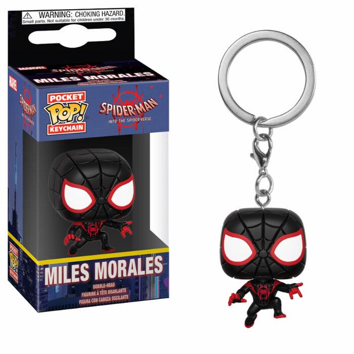 Miles Morales Pocket Pop Keychain