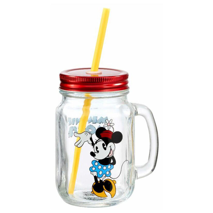 Minnie Mouse Mason Jar Funko