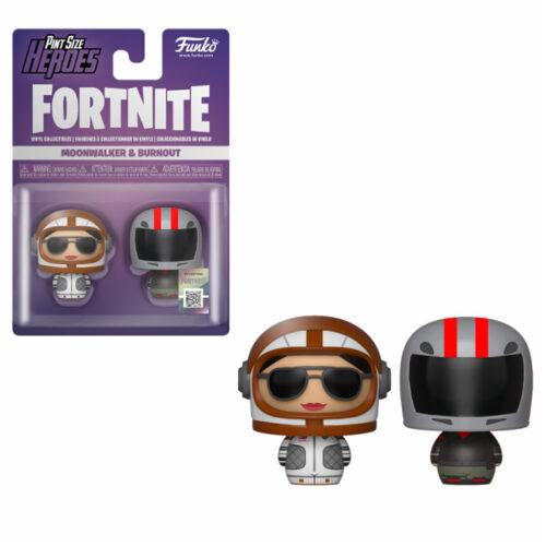 Moonwalker & Burnout Fortnite Pint Size Heroes Funko