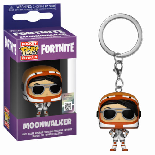 Moonwalker Keychain