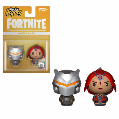 Omega & Valor Pint Size Heroes Fortnite Funko