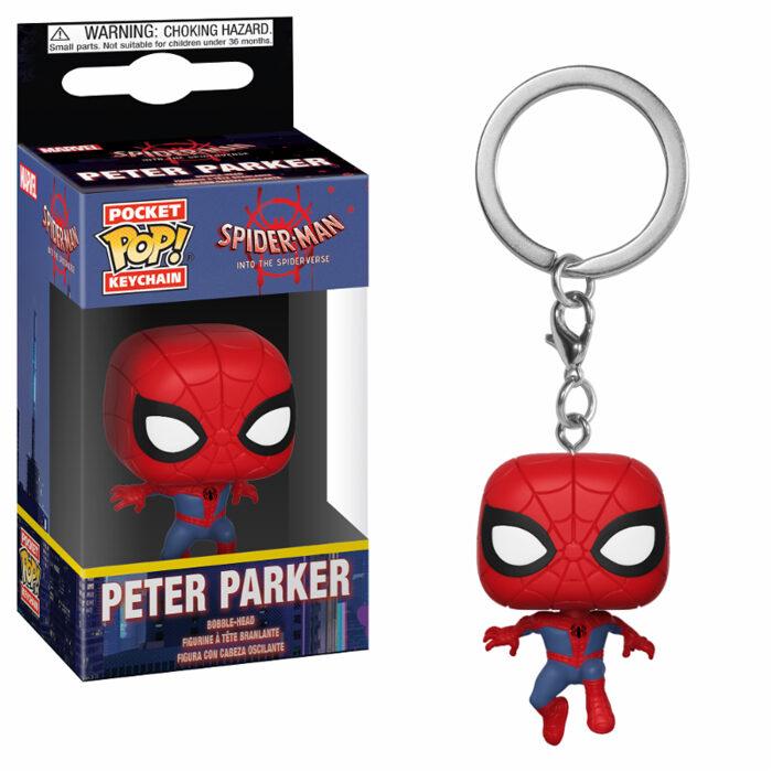 Peter Parker Pocket Pop Keychain