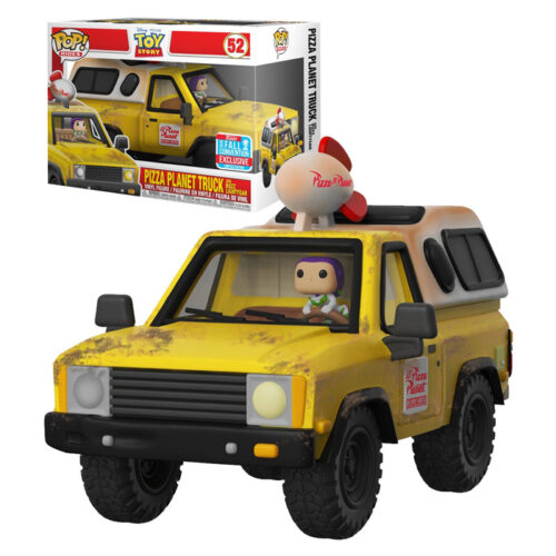 Pizza Planet Truck with Buzz Lightyear Funko Pop Rides NYCC 2018