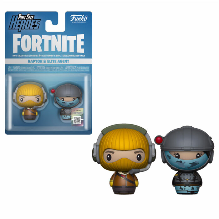 Raptor & Elite Agent Pint Size Heroes Funko Fortnite