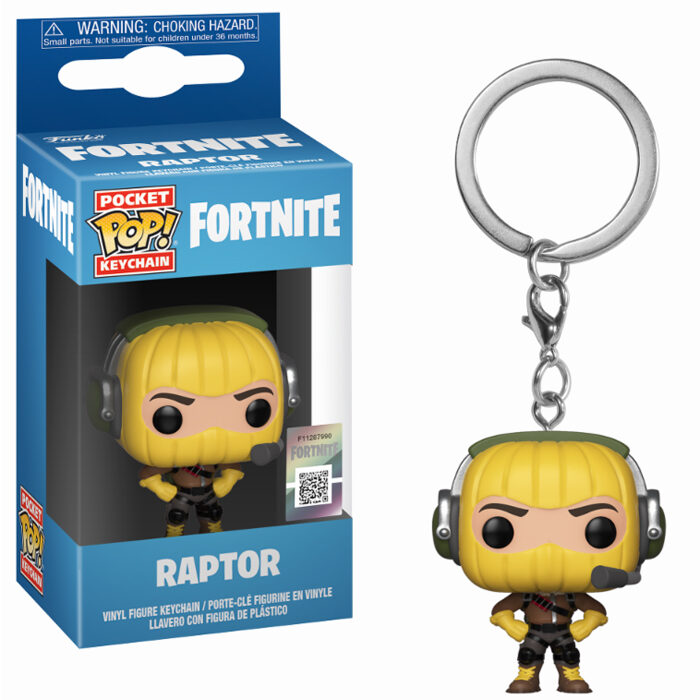 Raptor Keychain