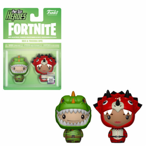 Rex & Tricera Ops Pint Size Heroes Funko Fortnite