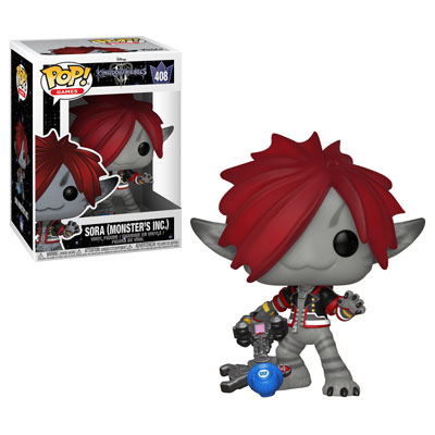 Sora (Monsters Inc) Kingdom Hearts III Funko Pop