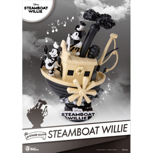Steamboat Willie Disney Diorama Beast Kingdom