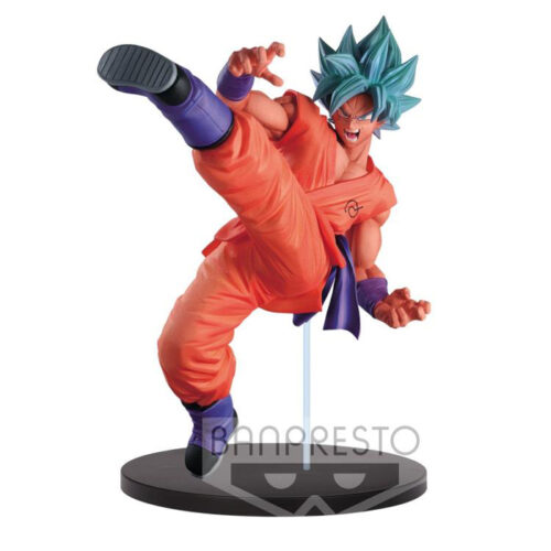 Super Saiyan God Super Saiyan Son Goku Fes!! Banpresto Figure