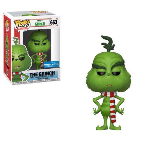The Grinch with Scarf Funko Pop