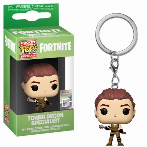Tower Recon Specialist Keychain