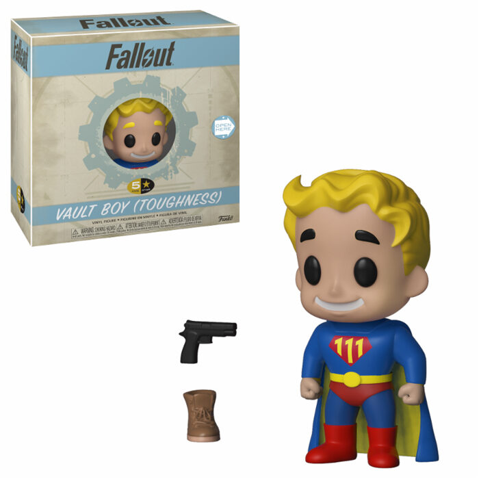 Vault Boy Toughness 5 Star Funko