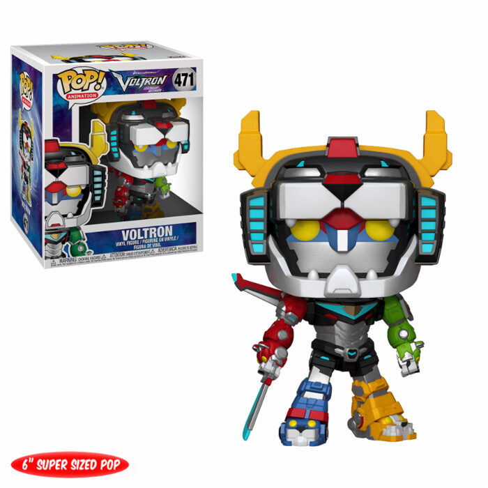 Voltron Super Sized Funko Pop