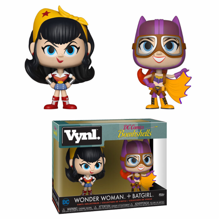 Wonder Woman and Batgirl Vynl 2-pack funko