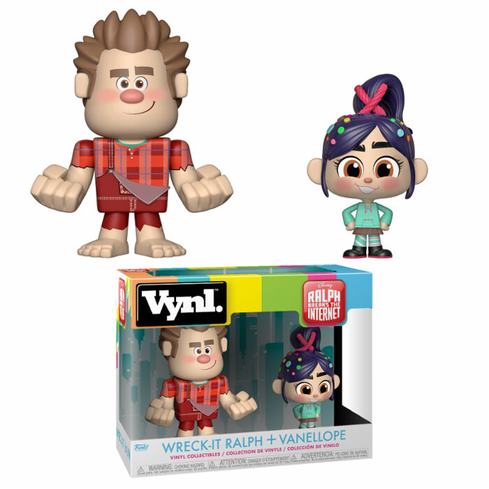Wreck-It Ralph & Vanellope Vynl 2-Pack