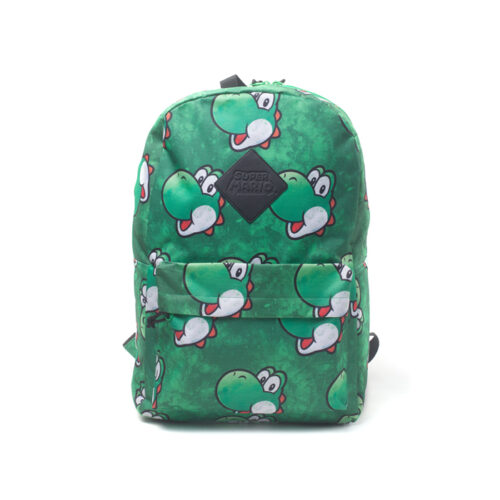 Yoshi Face Sublimation Print Backpack