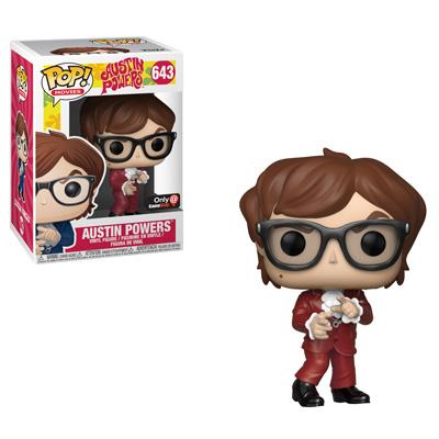 Austin Powers Red Suit Funko Pop