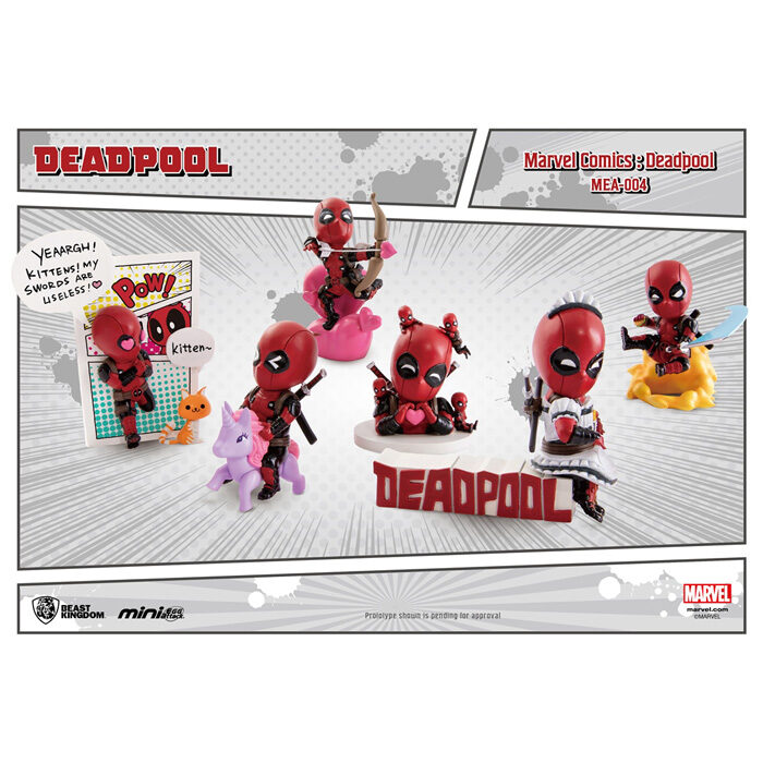 Beast Kingdom Mini Egg Attack Figures Deadpool marvel