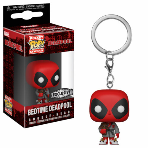 Bedtime Deadpool Pocket Pop Keychain Funko