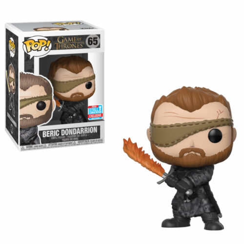 Beric Dondarrion with Flame Sword Funko Pop