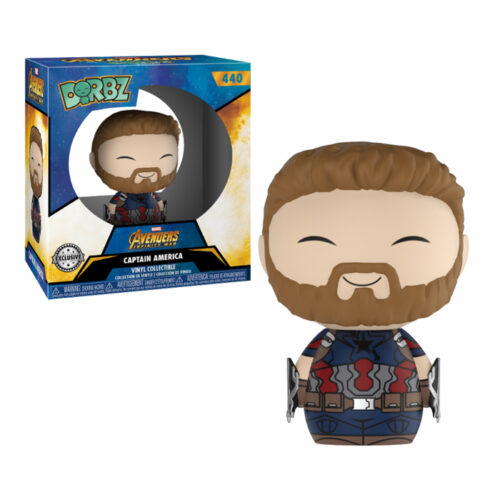 Captain America with Weapons Dorbz