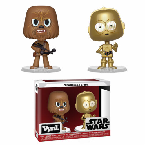 Chewbacca and C-3PO Funko Vynl. 2-pack Star Wars