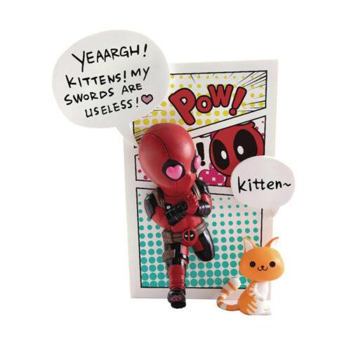 Deadpool Jump Out 4th Wall Figure Mini Egg Attack Marvel Beast Kingdom