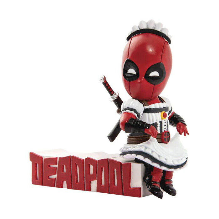 Deadpool Maid Figure Mini Egg Attack Marvel Beast Kingdom