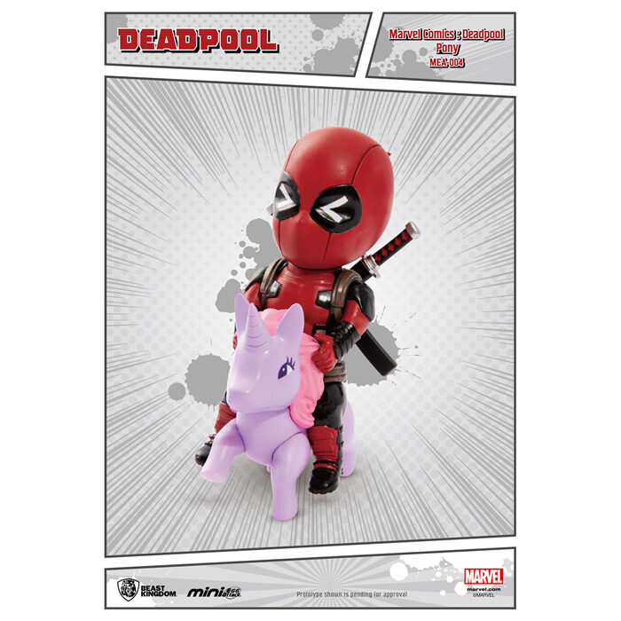 Deadpool Pony Figure Mini Egg Attack Marvel Beast Kingdom