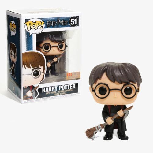 Harry With Firebolt Funko Pop