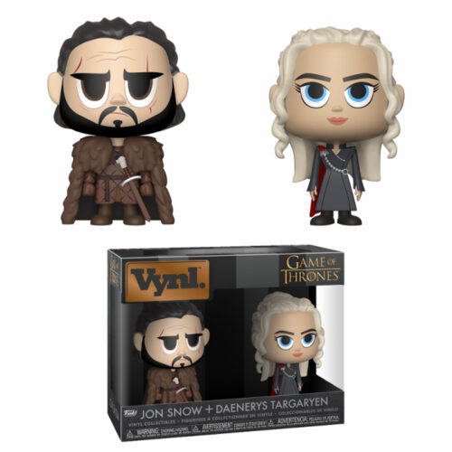 Jon Snow and Daenerys Targaryen Vynl 2-pack