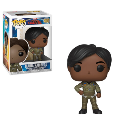 Maria Rambeau Funko Pop Captain Marvel